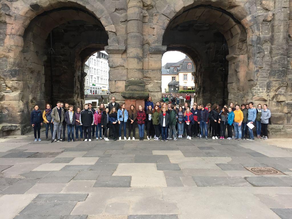 Exkursion der Lateinkurse der Jahrgänge 9 bis 11 in die Römerstadt Trier
